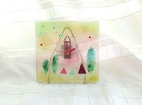フュージングの時計(『森の小さなお家』)
