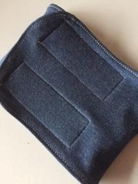 blue jeans(色落ちデニム・knit)
